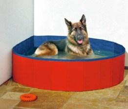 2in1 Hundepool Hundeswimmingpool Rundpool & Eckpool