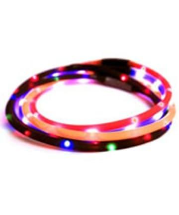 Animate blinkendes LED-Band Hund 70 cm - zuschneidbar