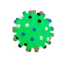 Como Grüne Hunde Welpenkugel, Kauspielzeug, quietschend