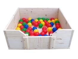 Easy Hopper Bällebad für Welpen mit 50 Bällen, vorgefertigt