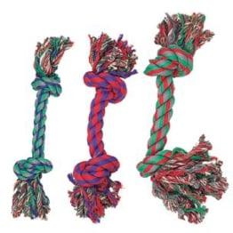 Spielzeug für Hunde - Baumwollknoten BUNT 43cm