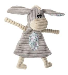Hunter Hundespielzeug Huggly Blanket Donkey, Squeaker