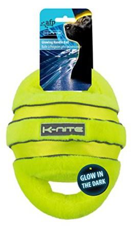 Glowing Handle Ball neongelbes Hundespielzeug