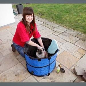 Karlie Flamingo Doggy Quick Wash für kleine Hunde 60 x 45 cm