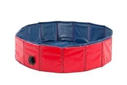 Karlie Flamingo Hunde - Pool, Ø 160 cm, rot/blau, Höhe 30 cm