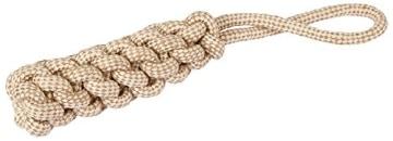 Kerbl Dummy am Seil M, 5 x 32 cm, Baumwolle, Jute