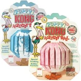Kong Puppy Activity Ball für Welpen, Spielzeug, Größe M