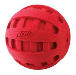 Checker Ball - Gummiball mit Quietschgeräusch