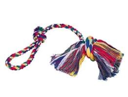 Nobby Rope Toy Knoten mit Wurfschlaufe 60 cm, bunt
