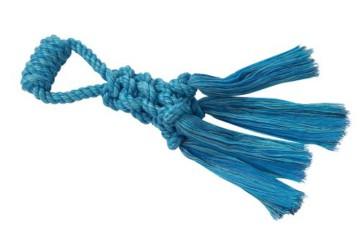 Nobby geflochtenes Seil mit Schlaufe, robust, Baumwolle