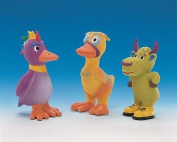 Nobby Hundespielzeug Latex Vogel, Ente oder Kuh 11 cm