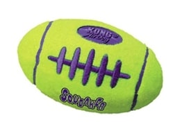 Paulchen Air Kong Football (S), 9 cm, eiförmiger Hundeball - 1
