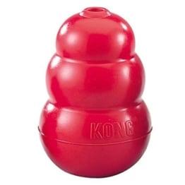 Roter Kong Hundespielzeug L, 10,5 cm, robust und haltbar - 1