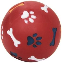 Snackball f. Hunde ø 11cm, rot, befüllbar