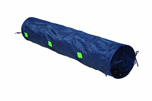 trixie dog activity agility tunnel 40 cm 2 m blau aus nylon. Black Bedroom Furniture Sets. Home Design Ideas