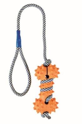 Trixie Knochen, phosphoreszierendes Seil, 11 cm/40 cm