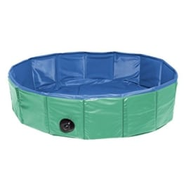 2in 1 - Hundeswimmingpool Rund & Eckig - In 3 Größen