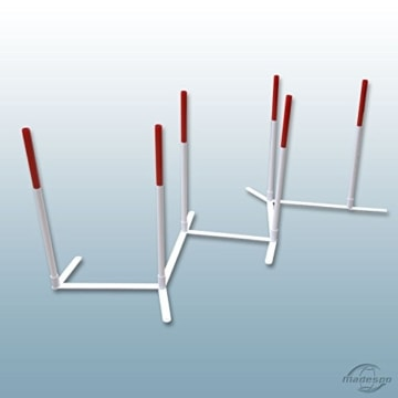 agility hunde slalom set agility training. Black Bedroom Furniture Sets. Home Design Ideas