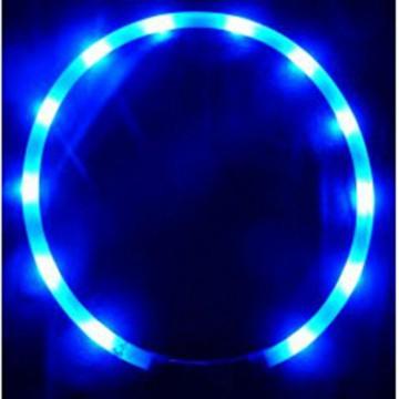 Animate blinkendes LED Hundehalsband, 70 cm, Einheitsgröße