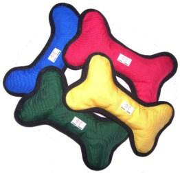 Apportier - Spielzeug Knochen (Schwimmfähig) in Rot