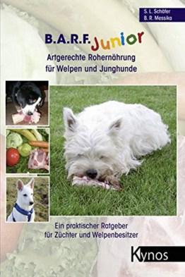 B.A.R.F. Junior Artgerechte Rohernährung für Welpen und Junghunde
