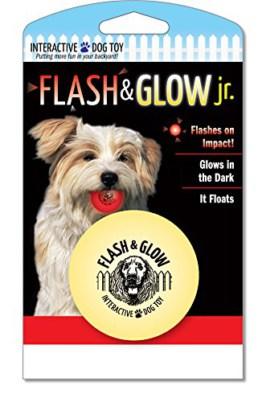 Beldorado Flesh und Glow Junior, Hundeball, leuchtend
