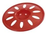 Frisbee aus Kunststoff 22cm, rot