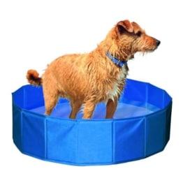 Hundepool - 80 cm, Kunststoff, blau