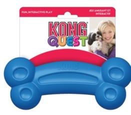 KONG Quest Bone, Large, ca. 22 cm, Leckerchenspender