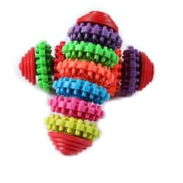 Minkle® Buntes Kauspielzeug für Hunde / Welpen Dental