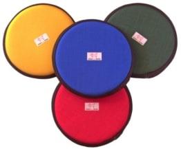 Schwimmfähiger Frisbee aus Stoff 'Klein' in Gelb