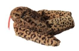 Riesenschlange in Leopardenmuster