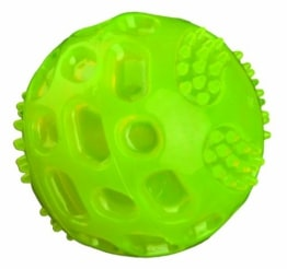 Trixie Blinkball, thermoplastisches Gummi (TPR), 5.5 cm, grün