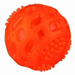 Trixie Blinkball, thermoplastisches Gummi (TPR), 6.5 cm