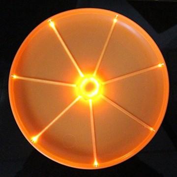 Hund Flyer LED Hunde Frisbee, Blinklicht, Flying Disc