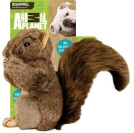 Das Animal Planet Plüsch Eichhörnchen ist mit einer Größe von circa 17 cm für alle Hunderassen und Größem geeignet. Es sieht toll aus.
