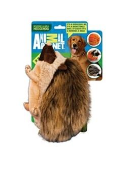 Der Animal Planet Plüsch Igel besteht aus weichem Plüsch. Er läßt sich zu einer Kugel zusammendrücken, wie ein richtiger Igel.