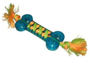 Der Aqua Gum Bone, tolles Wasser- und Landspielzeug.