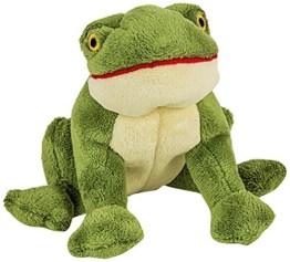Henry Frosch ist ein liebenswerter Spielkamerad für den Hund. Er ist 23 cm groß und hat eine stabile Netz-Innenauskleidung.