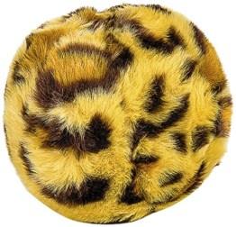 Der Beldorado Leopard Ball mit seiner edlen Optik ist ein wirklich schönes Hundespielzeug. Das weiche Material und die Größe machen ihn zum Allrounder.