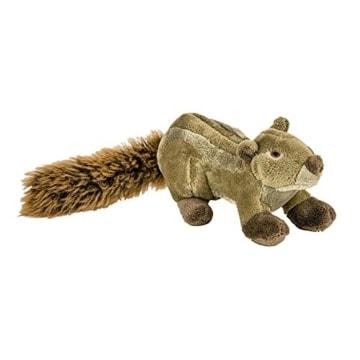 Das Beldorado Peanut Eichhörnchen ist ein qualitativ hochwertig gefertigtes Spielzeug aus doppelt vernähtem Plüsch mit robuster Netz-Innenauskleidung.
