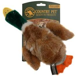 Die Country Pets Wildente aus Plüsch ist 30 cm groß und in Form und Farbe der echten Wildente ähnlich, selbst Schnattergeräusche macht sie.