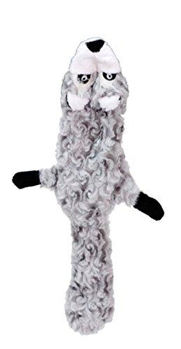 Der Soft Waschbär mit seiner Größe von 40 cm ist ein prima Spielkamerad für mittlere und größere Hunde. Er verfügt über einen Quietscher.