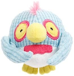 Dolly Owl ist eine lustig aussehende Eule aus weichem und nachgiebigem Plüsch. Da sie fast wie ein Ball geformt ist, kann der Hund super damit spielen.
