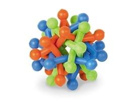 Nobby Vollgummi Knotenball Stern schont die Zähne beim Spielen