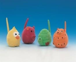 Die Nobby Latex Kugeltiere, eine Serie lustiger kleiner Balltiere für jede Gelegenheit. Sie bestehen aus Latex und sind handliche Spielzeuge zum Mitnehmen.
