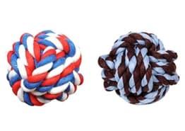 Die Knoten Seil Kugel, der Spiel Ball für jeden Hund.