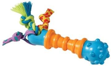 Das Petstages Mini Barbell Kauspielzeug.