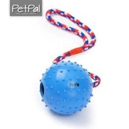 PetPäl Wurfball mit Schnur